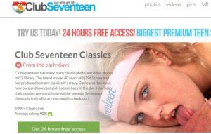 Gratis toegang tot Club Seventeen ?
