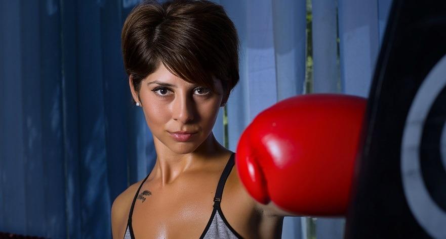 Ze wil met u boksen en neuken