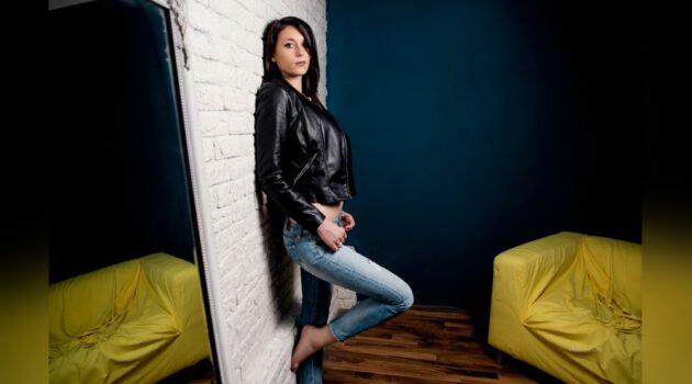 Vrouwelijk webcam topmodel